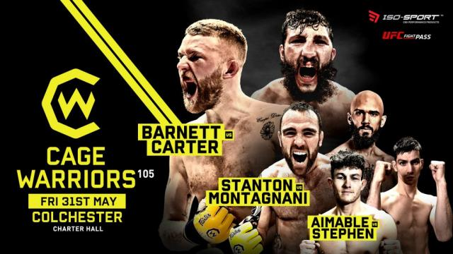 Cage Warriors 105: Barnett vs. Carter.