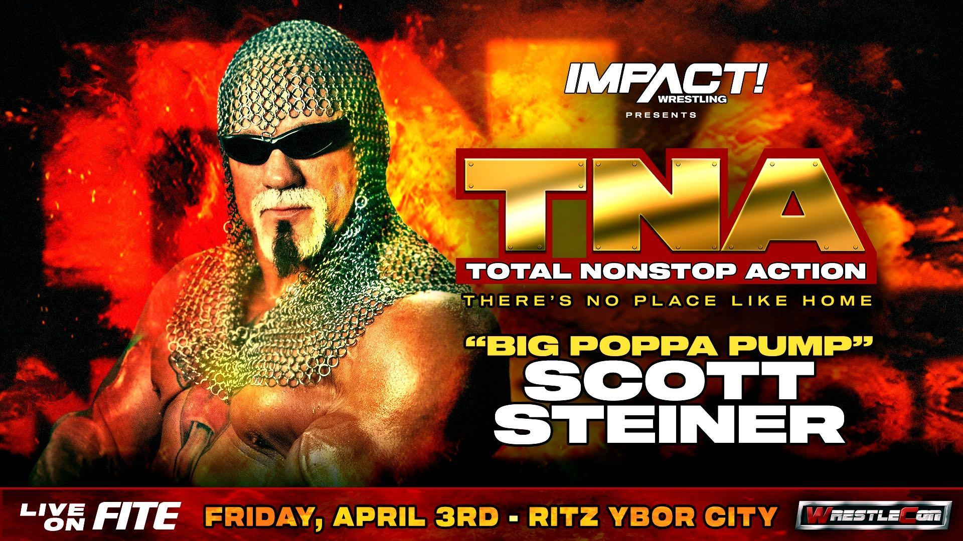 Scott Steiner Announced For TNA: There's No Place Like Home