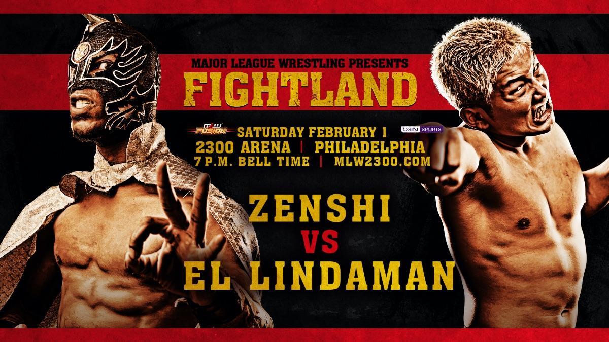 El Lindaman Battles Zenshi At MLW Fightland