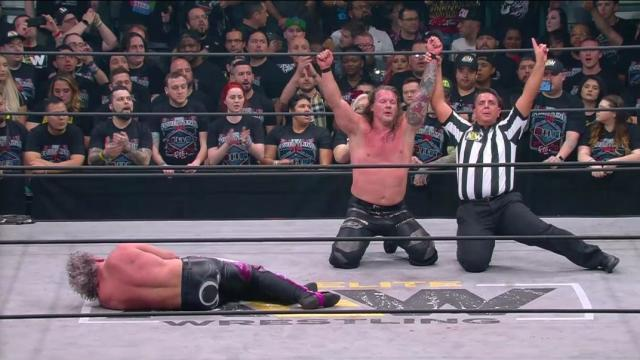AEW Double Or Nothing: Chris Jericho Vs. Kenny Omega ...