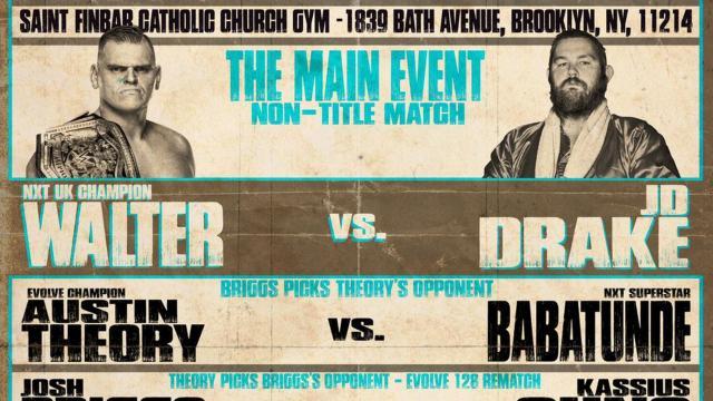 EVOLVE 135 Results (9/20): WALTER vs. Drake, Ohno vs. Briggs, More