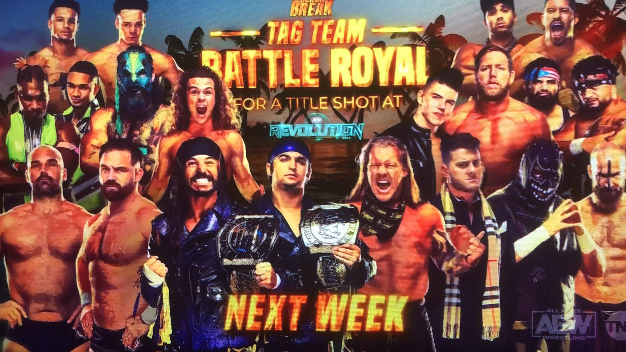 The Young Bucks Enter The Tag Team Battle Royal At AEW Beach Break; Updated Card