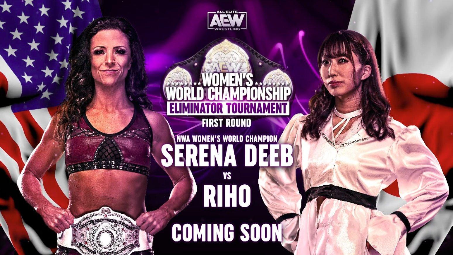 Riho Returning To AEW, Will Face Serena Deeb In Women's Eliminator Tournament