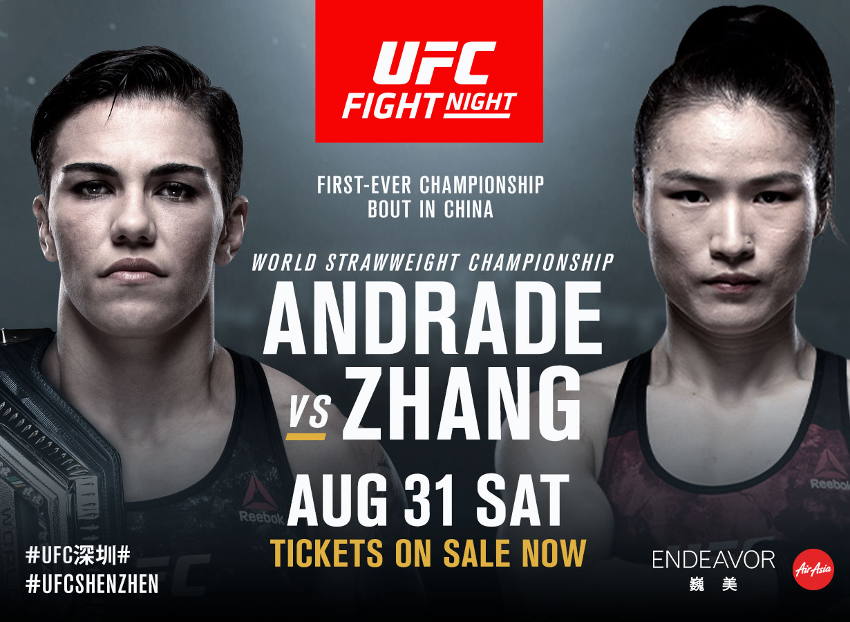 UFC Fight Night: Andrade vs. Zhang