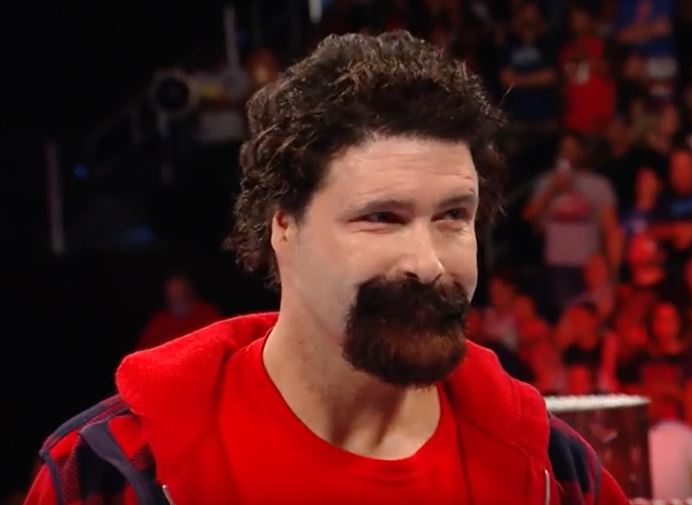 Off Track With A Train Mick Foley Admits To Cutting His
