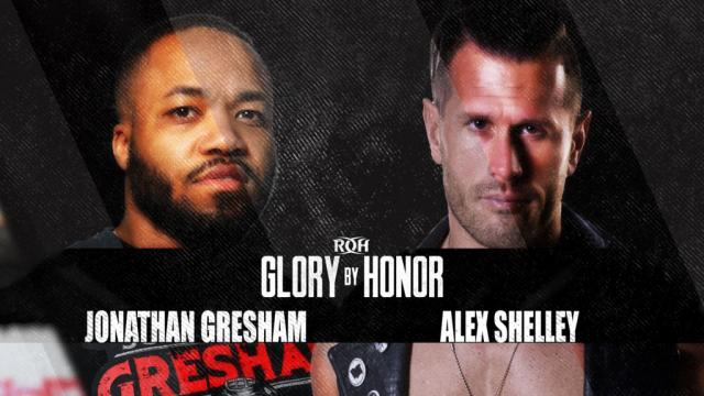 Gresham vs. Shelley, Tag Team Title Bout Added To ROH Glory By Honor