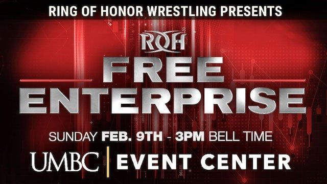 ROH Free Enterprise To Stream Live On HonorClub
