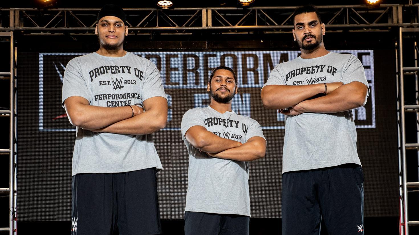Recruits From India Report To WWE Performance Center