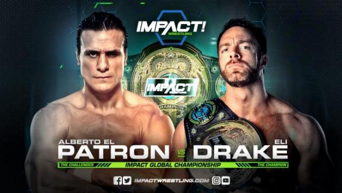 impact wrestling on pop tv results 1 4 impact global championship
