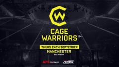 Cage Warriors 114 Results, Live Coverage & Discussion: John Mitchell vs. Alan Brykalski