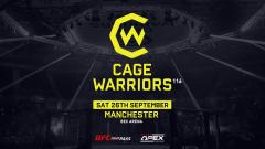 Cage Warriors 116 Quick Results, Live Coverage & Discussion: Sam Creasey vs. Nicolas Leblond