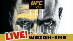 Watch: UFC 252 Weigh-Ins Live Stream