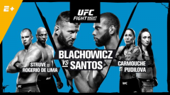 Live Coverage & Discussion For UFC Fight Night Prague: #4 Jan Blachowicz vs. #6 Thiago Santos