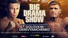 Gennadiy Golovkin vs. Sergiy Derevyanchenko Announced For October 5 At MSG