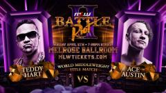 Teddy Hart To Defend MLW Middleweight Title Against Ace Austin At Battle Riot II
