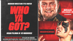 Warrior Wrestling Stadium Series Results (9/19): Brian Pillman Jr. Battles WARHORSE