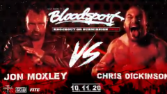 Jon Moxley Set To Face Chris Dickinson At Bloodsport On 10/11
