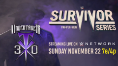 Survivor Series 2020 To Celebrate Thirty Years Of The Undertaker