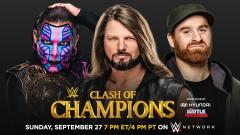 Intercontinental Title Triple Threat Ladder Match Set For WWE Clash Of Champions; Updated Card