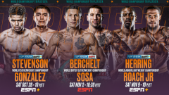 Top Rank Announces Three World Title Fights Set For The Fall