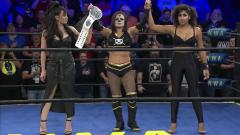Thunder Rosa Defeats Allysin Kay For The NWA Women's Championship At Hard Times