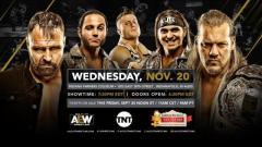 AEW On TNT Heading To Indiana On November 20
