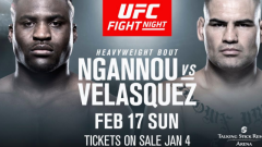 UFC Fight Night Phoenix Results: Francis Ngannou vs. Cain Velasquez Headlines, Plus Kron Gracie Debuts