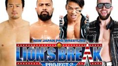 NJPW Announces Lineup For Lion's Break Project 2