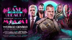 Bash At The Beach Revived For AEW Dynamite In January; Jericho's Cruise Being Used As Well
