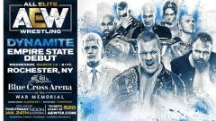 AEW Coming To Rochester, New York For 3/18 Episode Of Dynamite