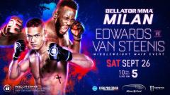 Bellator Europe 8 Results: Fabian Edwards vs. Costello Van Steenis Headlines, Plus Ion Pascu!