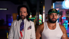 Pac-Man, Donkey Kong Record Holder Billy Mitchell Plays With Miro On AEW Dynamite