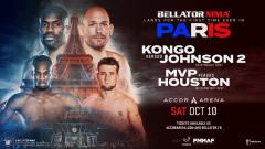 Eight Fights Added To Bellator Paris, Melvin Manhoef In Action