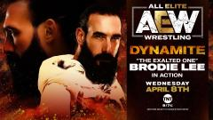 Brodie Lee Will Be In Action On 4/8 AEW Dynamite
