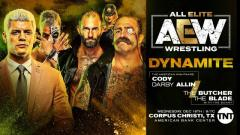 Cody & Darby Allin vs. The Butcher & The Blade, Awesome Kong In Action On 12/18 AEW Dynamite