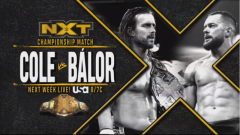 Adam Cole vs. Finn Balor For NXT Championship Set For 12/18 WWE NXT