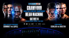 Terence Crawford vs. Egidijus Kavaliauskas, Richard Commey vs. Teofimo Lopez Set For December 14