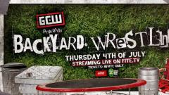 GCW Announces Backyard Wrestling Show For July 4