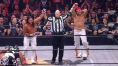 Young Bucks Defeat Lucha Bros To Retain AAA Tag Team Titles At AEW Double Or Nothing
