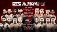 All 16 Competitors Announced For The Bellator Featherweight World Grand Prix