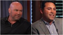 Dana White Calls Oscar De La Hoya A Liar, De La Hoya Wants To Fight Him