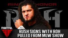 ROH Signs Rush To Exclusive Contract