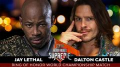 Jay Lethal To Defend ROH World Title Against Dalton Castle At Honor Reigns Supreme