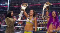 Sasha Banks And Bayley Become WWE Women's Tag Team Champions At Elimination Chamber