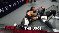 The Usos Win SmackDown Tag Titles At WWE Elimination Chamber, Apparently Don't Want To Get Fired