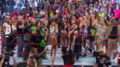WWE RAW Reunion Fight Size: Stone Cold Closes Show, Kelly Kelly Wins 24/7 Title, Eric Bischoff, More