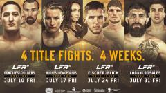 Legacy Fighting Alliance 84 Results: A Featherweight Champ Is Crowned, UFC Vet Boston Salmon Fights