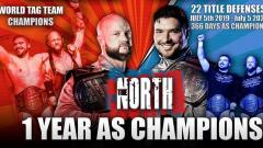 The North Hits The One-Year Mark As IMPACT Wrestling Tag Team Champions