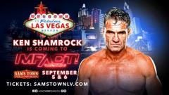 Ken Shamrock Announced For IMPACT Wrestling TV Tapings In September