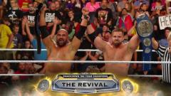 The Revival Make New Day Tap Out To Win SmackDown Tag Titles At WWE Clash Of Champions
